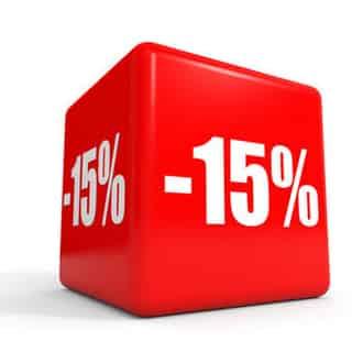 discount 15