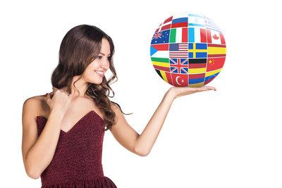vrste prevoda, zena sa globusom