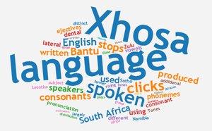 Xhosa, Xosa, Kosa, Koosa jezik